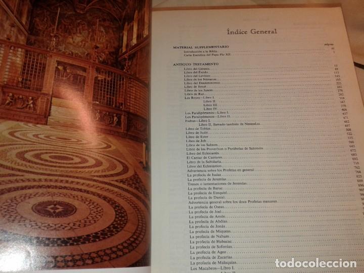 Libros de segunda mano: LA SAGRADA BIBLIA, FELIX TORRES AMAT, Pesa 3 kg - Foto 10 - 195050016