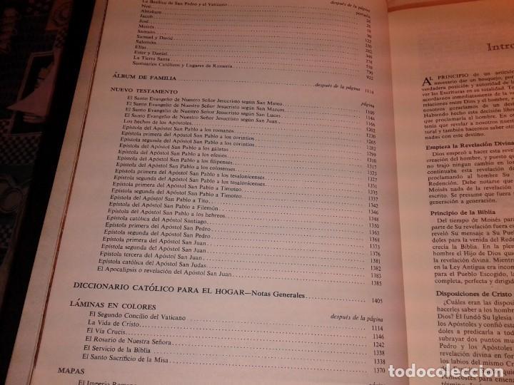 Libros de segunda mano: LA SAGRADA BIBLIA, FELIX TORRES AMAT, Pesa 3 kg - Foto 11 - 195050016