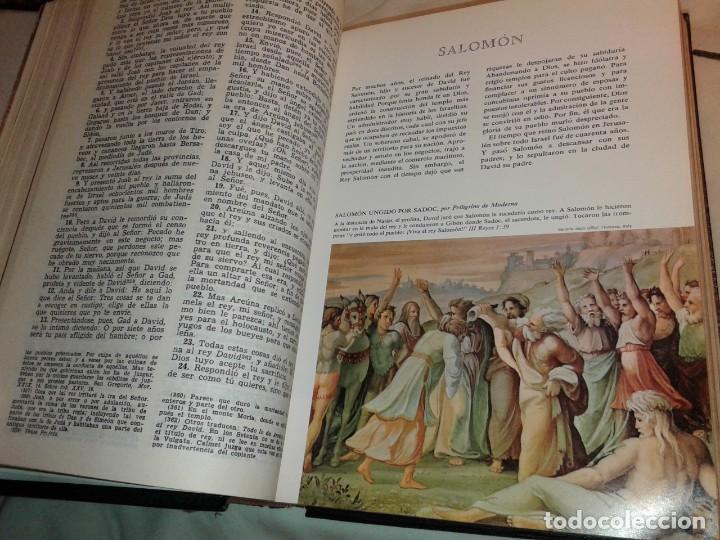 Libros de segunda mano: LA SAGRADA BIBLIA, FELIX TORRES AMAT, Pesa 3 kg - Foto 12 - 195050016
