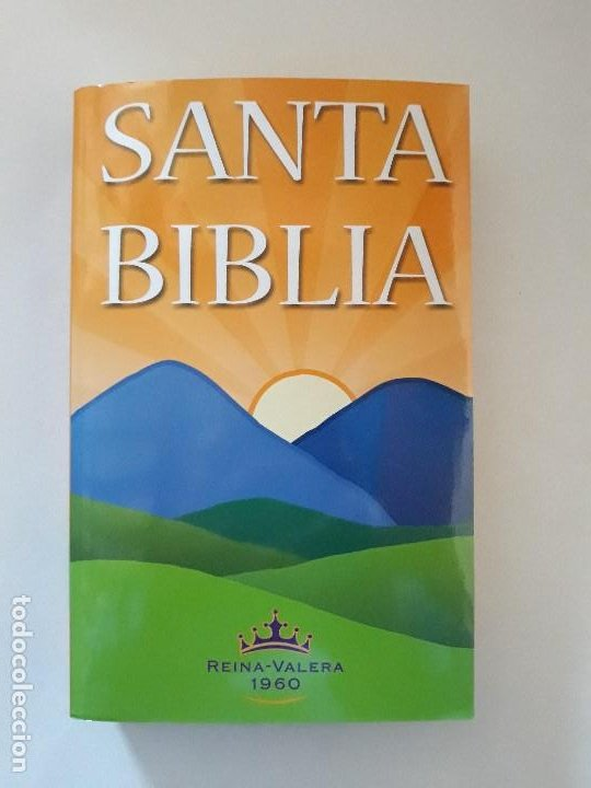 LA SANTA BIBLIA: REINA-VALERA 1960. SOCIEDADES BÍBLICAS UNIDAS (Libros de Segunda Mano - Religión)