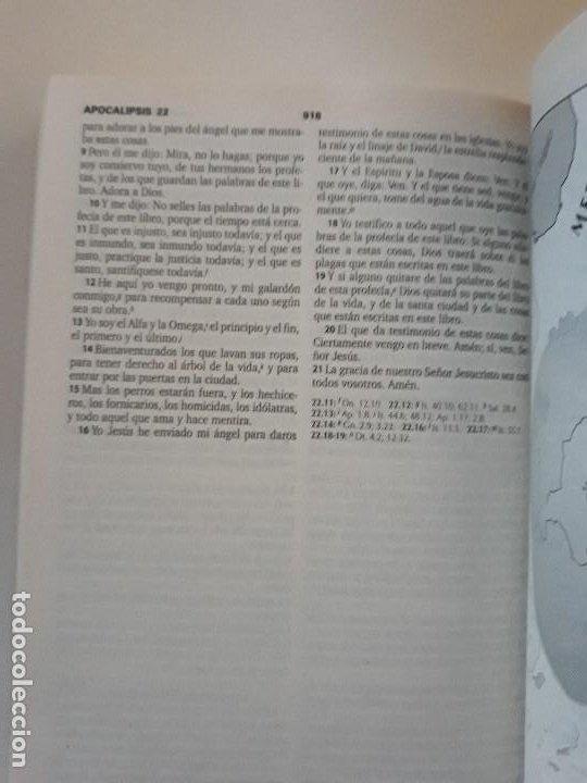 Libros de segunda mano: LA SANTA BIBLIA: REINA-VALERA 1960. SOCIEDADES BÍBLICAS UNIDAS - Foto 4 - 195052048