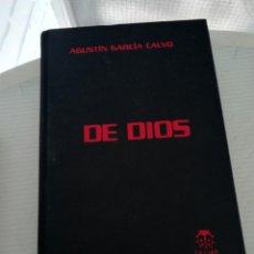 Libros de segunda mano: DE DIOS POR GARCÍA CALVO. Lote 195066466