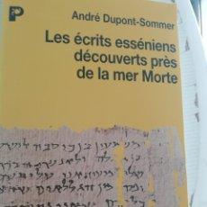 Libros de segunda mano: ÉCRITS ESSENIENS DÉCOUVERTES À LA MER MORTE EN FRANCÉS. Lote 195066993