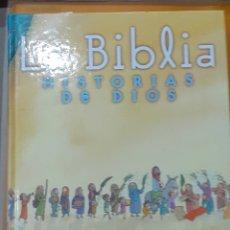 Libros de segunda mano: LA BIBLIA HISTORIA DE DIOS. Lote 195141683