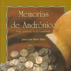 Libros de segunda mano: MEMORIAS DE ANDRONICO. Lote 195189496
