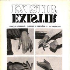 Libros de segunda mano: EXISTIR CUADERNOS DE EXPRESION 5 - M ROSA ARAGO CLARA MARTINEZ - SIN ESPECIFICAR. Lote 195192491