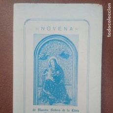 Libros de segunda mano: NOVENA DE NUESTRA SEÑORA DE LA CINTA PATRONA DE HUELVA. Lote 195217357
