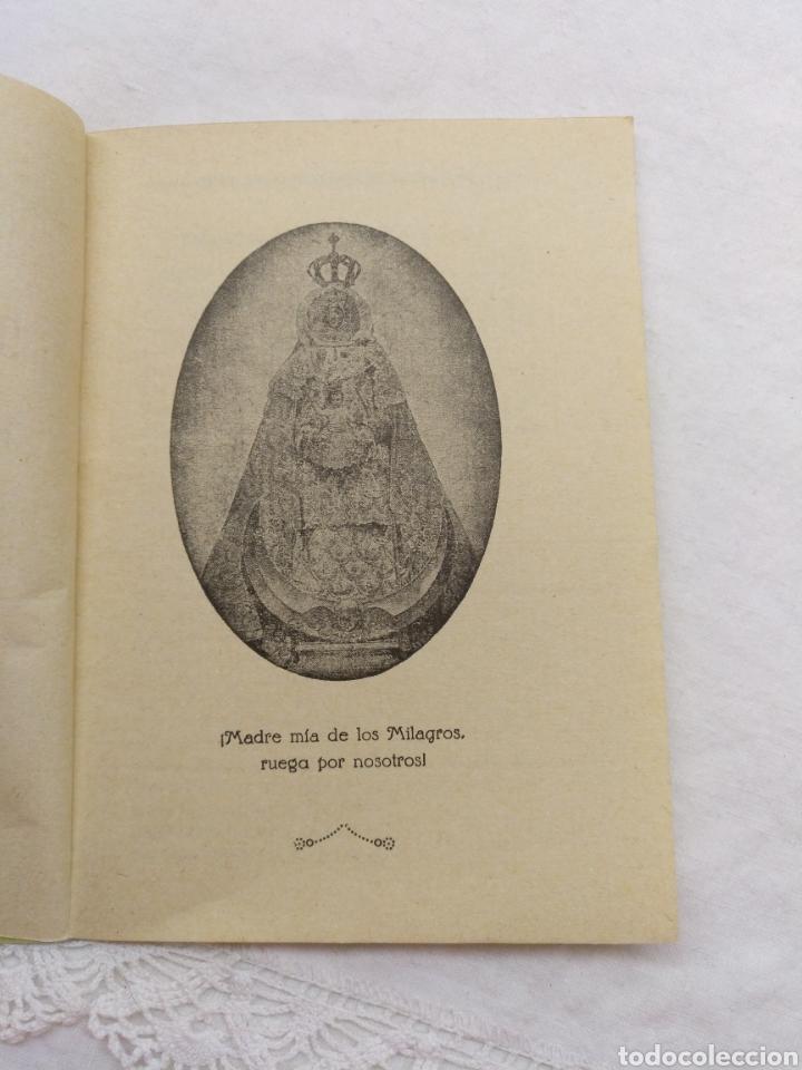 Libros de segunda mano: NOVENA A MARÍA SANTÍSIMA DE LOS MILAGROS 1965 - Foto 2 - 195227245