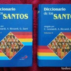 Libros de segunda mano: DICCIONARIO DE LOS SANTOS -- C. LEONARDI, A. RICCARDI, G. ZARRI ... 2 TOMOS. Lote 195235871