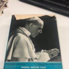 Libros de segunda mano: PÍO XII EL PAPÁ DE PAZ. Lote 195236588