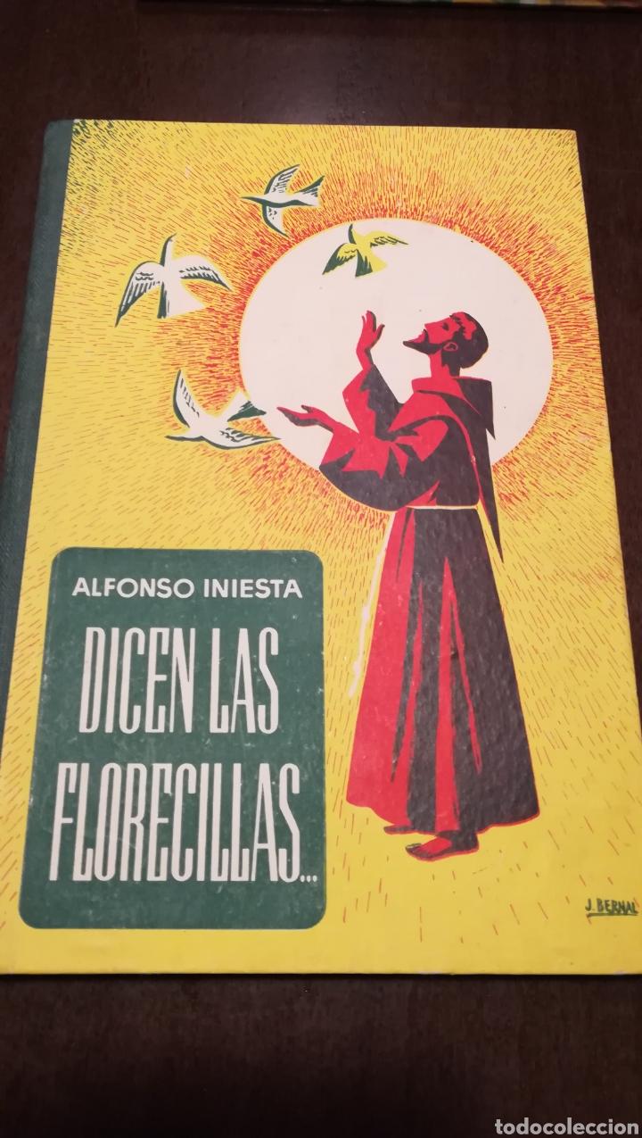 DICEN LAS FLORECILLAS (ESTAMPAS FRANCISCANAS). LIBRO DE 1959. (Libros de Segunda Mano - Religión)
