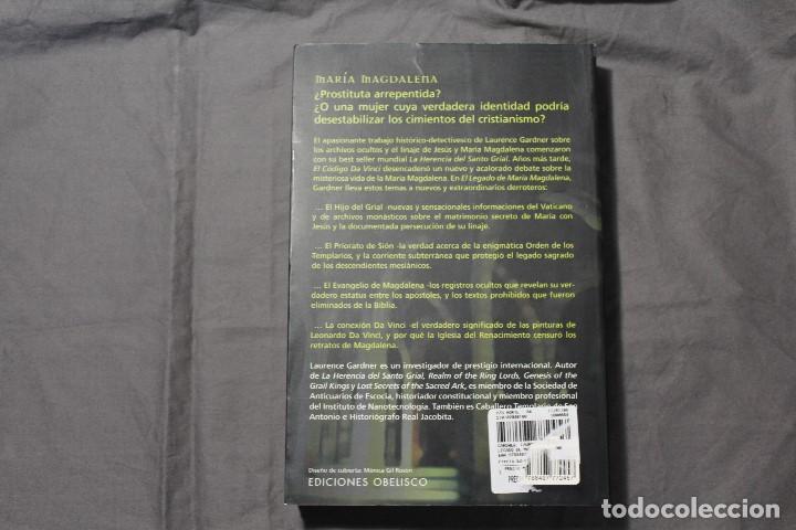 Libros de segunda mano: EL LEGADO DE MARÍA MAGDALENA. LAURENCE GARDNER - Foto 6 - 195338092