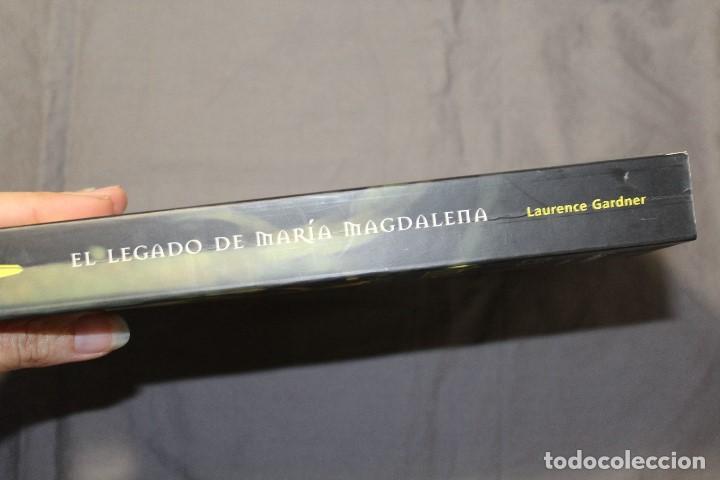Libros de segunda mano: EL LEGADO DE MARÍA MAGDALENA. LAURENCE GARDNER - Foto 7 - 195338092