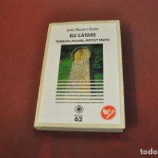 Libros de segunda mano: ELS CÀTARS PROBLEMA RELIGIÓS , PRETEXT POLÍTIC - JESÚS MESTRE I GODES - REB. Lote 195366558