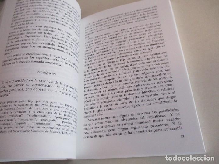 Libros de segunda mano: Qué es el Espiritismo . ALLAN KARDEC. - Foto 3 - 195368743
