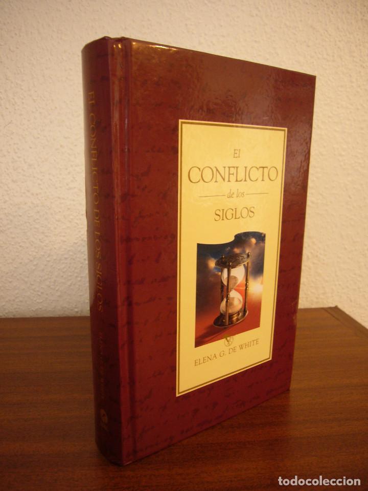 ELENA G. DE WHITE: EL CONFLICTO DE LOS SIGLOS (APIA, 2007) MUY BUEN ESTADO. TAPA DURA. RARO. (Libros de Segunda Mano - Religión)