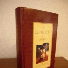 Libros de segunda mano: ELENA G. DE WHITE: EL CONFLICTO DE LOS SIGLOS (APIA, 2007) MUY BUEN ESTADO. TAPA DURA. RARO.. Lote 195372215