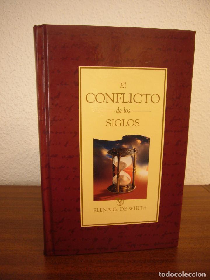 Libros de segunda mano: ELENA G. DE WHITE: EL CONFLICTO DE LOS SIGLOS (APIA, 2007) MUY BUEN ESTADO. TAPA DURA. RARO. - Foto 2 - 195372215