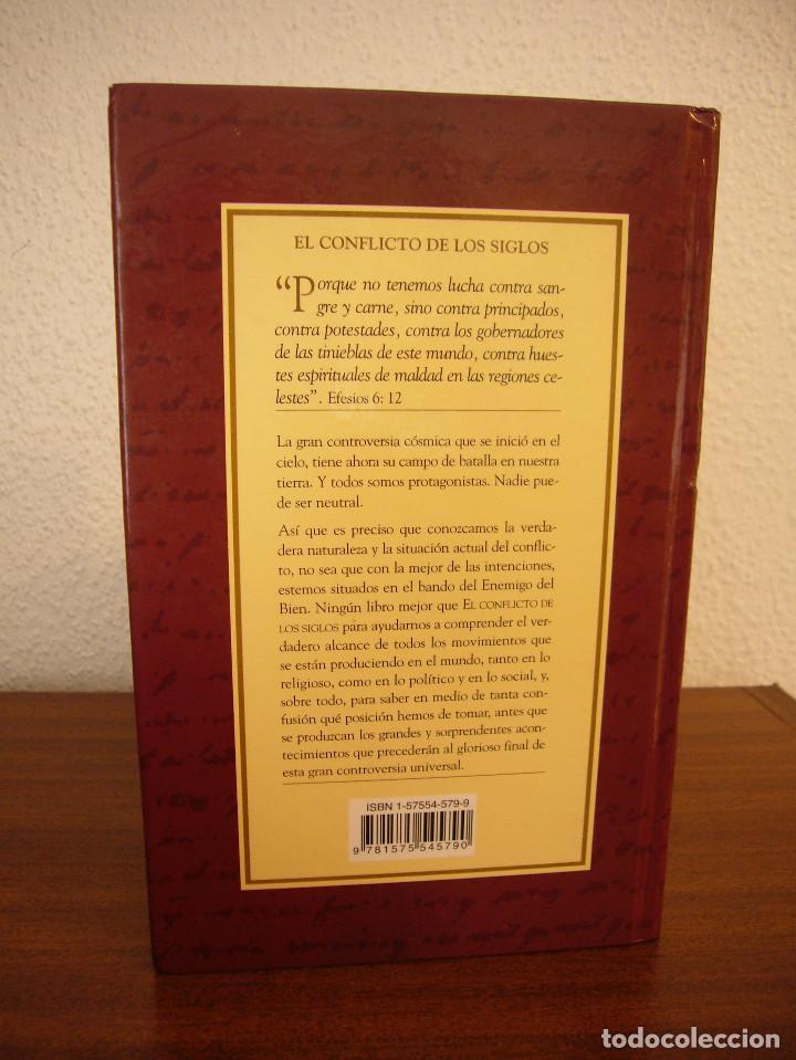 Libros de segunda mano: ELENA G. DE WHITE: EL CONFLICTO DE LOS SIGLOS (APIA, 2007) MUY BUEN ESTADO. TAPA DURA. RARO. - Foto 3 - 195372215