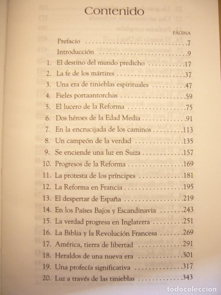 Libros de segunda mano: ELENA G. DE WHITE: EL CONFLICTO DE LOS SIGLOS (APIA, 2007) MUY BUEN ESTADO. TAPA DURA. RARO. - Foto 6 - 195372215