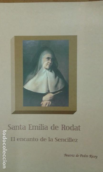 Libros de segunda mano: LOTE SOBRE SANTA EMILIA DE RODAT (6 unidades en total ver descripción) - Foto 3 - 195378653