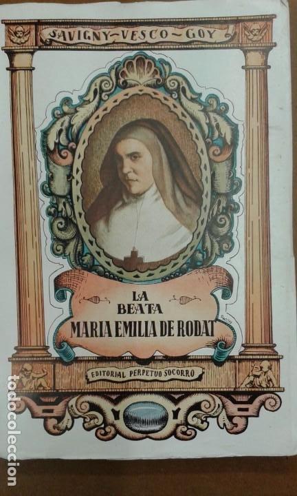 Libros de segunda mano: LOTE SOBRE SANTA EMILIA DE RODAT (6 unidades en total ver descripción) - Foto 6 - 195378653