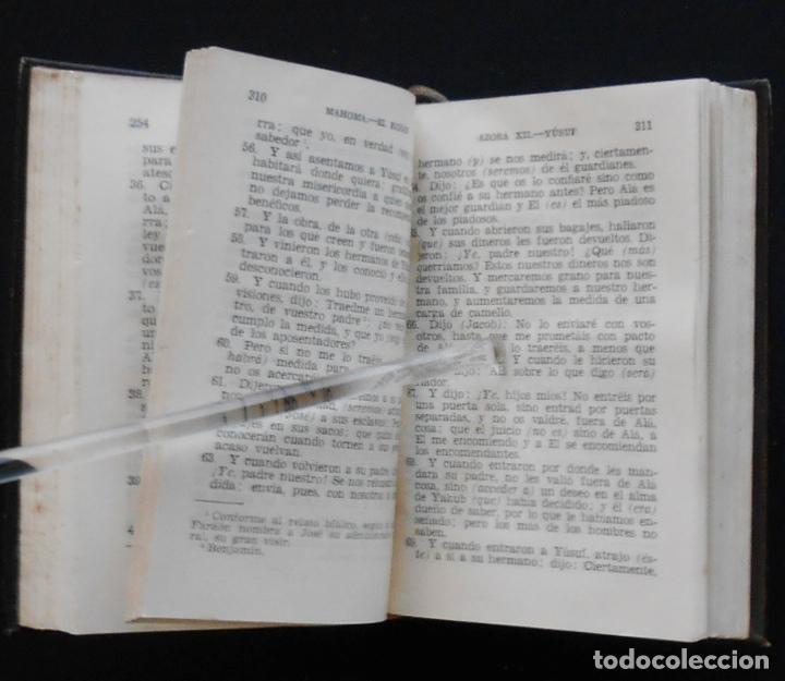 Libros de segunda mano: PCBROS - KORAN - VERSIÓN LITERAL E INTEGRAL - AGUILAR - COL. CRISOL Nº 310 - ED. - 2ª.- 1954 - Foto 8 - 195391060