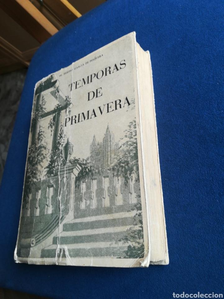 TEMPORAS DE PRIMAVERA EUSEBIO GARCÍA DE PESQUERA 1957 DEDICADO (Libros de Segunda Mano - Religión)