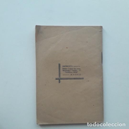 Libros de segunda mano: DECÁLOGO DE UN TERCIARIO FRANCISCANO - HERMANO NOVICIO E V P (1942) - Foto 3 - 195420831