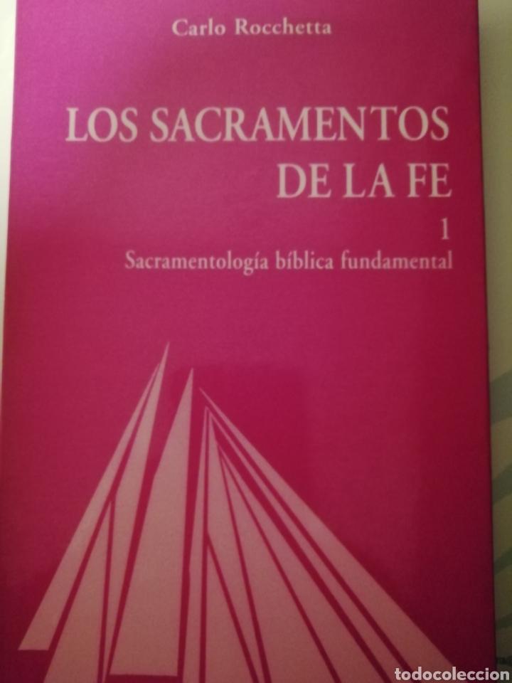 LOS SACRAMENTOS DE LA FE, CARLO ROCCHETTA, SECRETARIADO TRINITARIO, TOMO 1 (Libros de Segunda Mano - Religión)