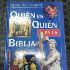 Libros de segunda mano: QUIÉN ES QUIEN EN LA BIBLIA. READERS DIGEST. DICCIONARIO BIBLIOGRAFÍCO ILUSTRADO. 1.996.. Lote 195472202