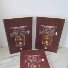 Libros de segunda mano: ARPAS ETERNAS. TOMO 1/2/3. JOSE ROSALIA LUQUE ALVAREZ. EDITORIAL KIER. 1992/1993.. Lote 195505270