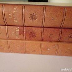 Libros de segunda mano: LA BIBLIA (TRES TOMOS). EDITORIAL LABOR(LEER). Lote 195513511