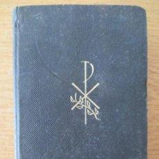 Libros de segunda mano: P. LUIS RIBERA. MISAL BÍBLICO. ED .REGINA. BARCELONA. 1968.. Lote 196360747