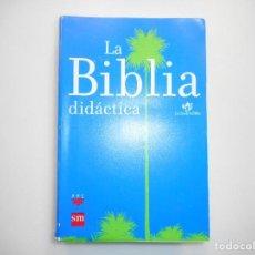 Libros de segunda mano: LA BIBLIA DIDÁCTICA Y99211T. Lote 196601891