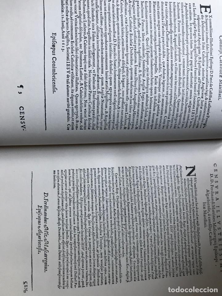 Libros de segunda mano: Defensa de la fe católica y apostólica contra los errores del anglicanismo por Francisco Suárez - Foto 2 - 196634533