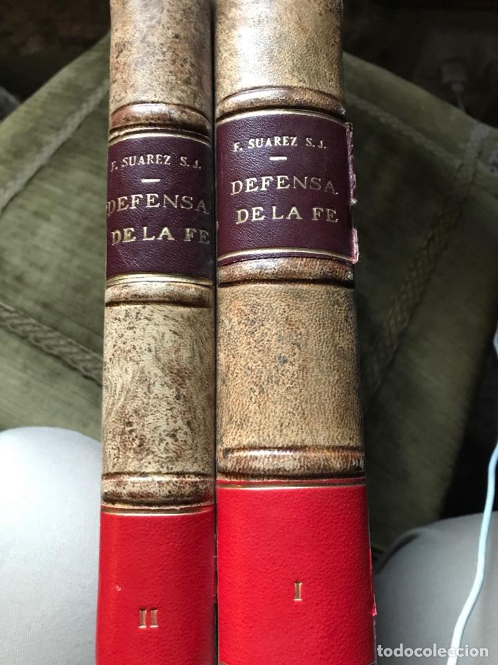 DEFENSA DE LA FE CATÓLICA Y APOSTÓLICA CONTRA LOS ERRORES DEL ANGLICANISMO POR FRANCISCO SUÁREZ (Libros de Segunda Mano - Religión)