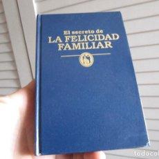 Libros de segunda mano: TESTIGOS DE JEHOVÁ EL SECRETO DE LA FELICIDAD FAMILIAR. Lote 196892058