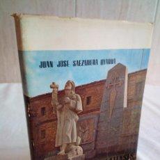 Libros de segunda mano: 171-ESTAMPAS CALCEATENSES, UN SANTO Y UNA CIUDAD, SANTO DOMINGO DE LA CALZADA, 1972. Lote 197057027