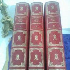 Libros de segunda mano: HISTORIA DE LA SANTÍSIMA VIRGEN MARÍA. J. PÉREZ SANJULIAN. 3 TOMOS. 1988. FACSÍMIL DE ED. DE 1902-3.. Lote 197211010