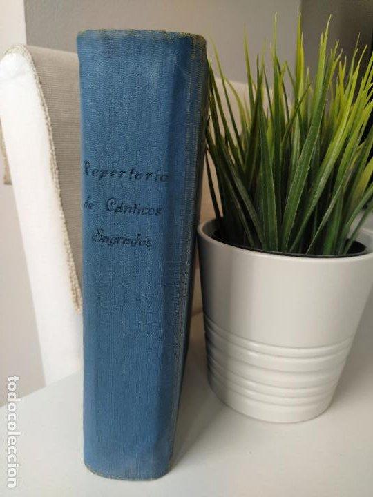 Libros de segunda mano: REPERTORIO DE CANTICOS SAGRADOS - JOSÉ GONZALEZ ALONSO - EDITORIAL COCULSA 1954 7ª EDICIÓN - Foto 2 - 197833812