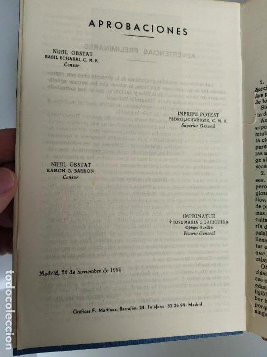 Libros de segunda mano: REPERTORIO DE CANTICOS SAGRADOS - JOSÉ GONZALEZ ALONSO - EDITORIAL COCULSA 1954 7ª EDICIÓN - Foto 5 - 197833812