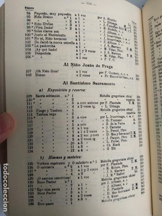 Libros de segunda mano: REPERTORIO DE CANTICOS SAGRADOS - JOSÉ GONZALEZ ALONSO - EDITORIAL COCULSA 1954 7ª EDICIÓN - Foto 9 - 197833812
