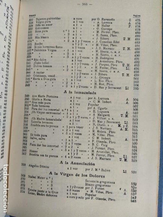 Libros de segunda mano: REPERTORIO DE CANTICOS SAGRADOS - JOSÉ GONZALEZ ALONSO - EDITORIAL COCULSA 1954 7ª EDICIÓN - Foto 14 - 197833812