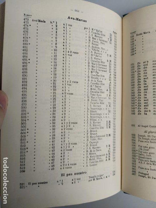 Libros de segunda mano: REPERTORIO DE CANTICOS SAGRADOS - JOSÉ GONZALEZ ALONSO - EDITORIAL COCULSA 1954 7ª EDICIÓN - Foto 18 - 197833812