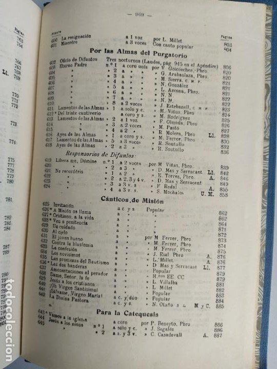 Libros de segunda mano: REPERTORIO DE CANTICOS SAGRADOS - JOSÉ GONZALEZ ALONSO - EDITORIAL COCULSA 1954 7ª EDICIÓN - Foto 20 - 197833812