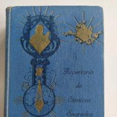 Libros de segunda mano: REPERTORIO DE CANTICOS SAGRADOS - JOSÉ GONZALEZ ALONSO - EDITORIAL COCULSA 1954 7ª EDICIÓN. Lote 197833812