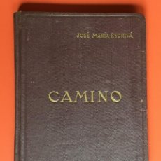 Libros de segunda mano: CAMINO - JOSÉ MARÍA ESCRIVÁ - 1945 - EDITORIAL MINERVA - TERCERA EDICIÓN. Lote 198295222