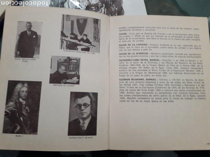 Libros de segunda mano: LIBRO DE SEMANA SANTA DE SEVILLA DICCIONARIO COFRADE DE JUAN CARRERO RODRIGUEZ AÑO 1980 - Foto 2 - 198311006