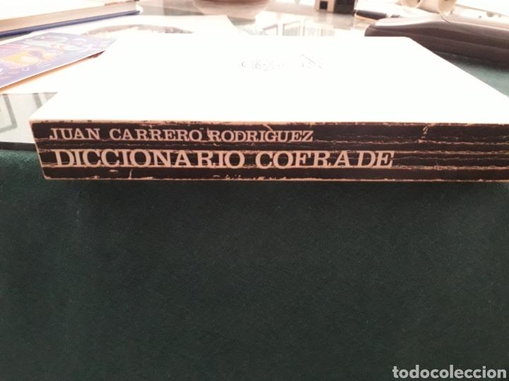 Libros de segunda mano: LIBRO DE SEMANA SANTA DE SEVILLA DICCIONARIO COFRADE DE JUAN CARRERO RODRIGUEZ AÑO 1980 - Foto 3 - 198311006